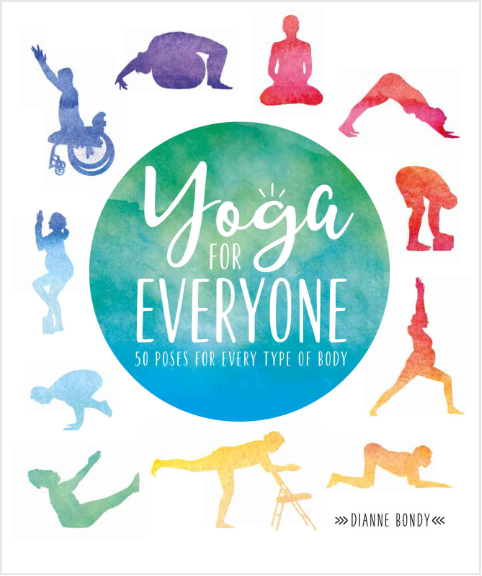 Yoga for Everyone Book cover.