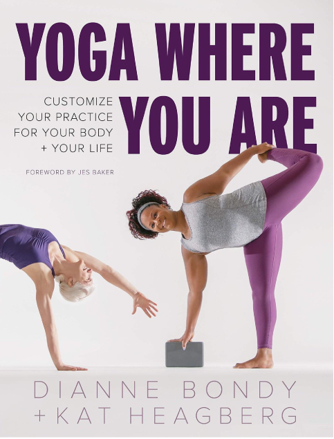 Yoga Where You Are book cover.