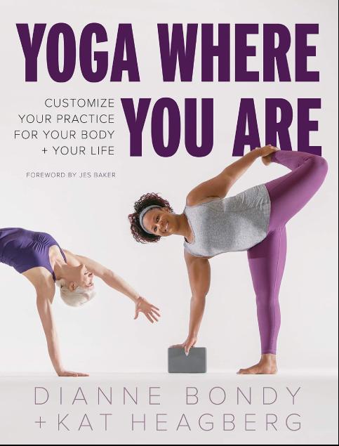 Yoga Where You Are book cover.
